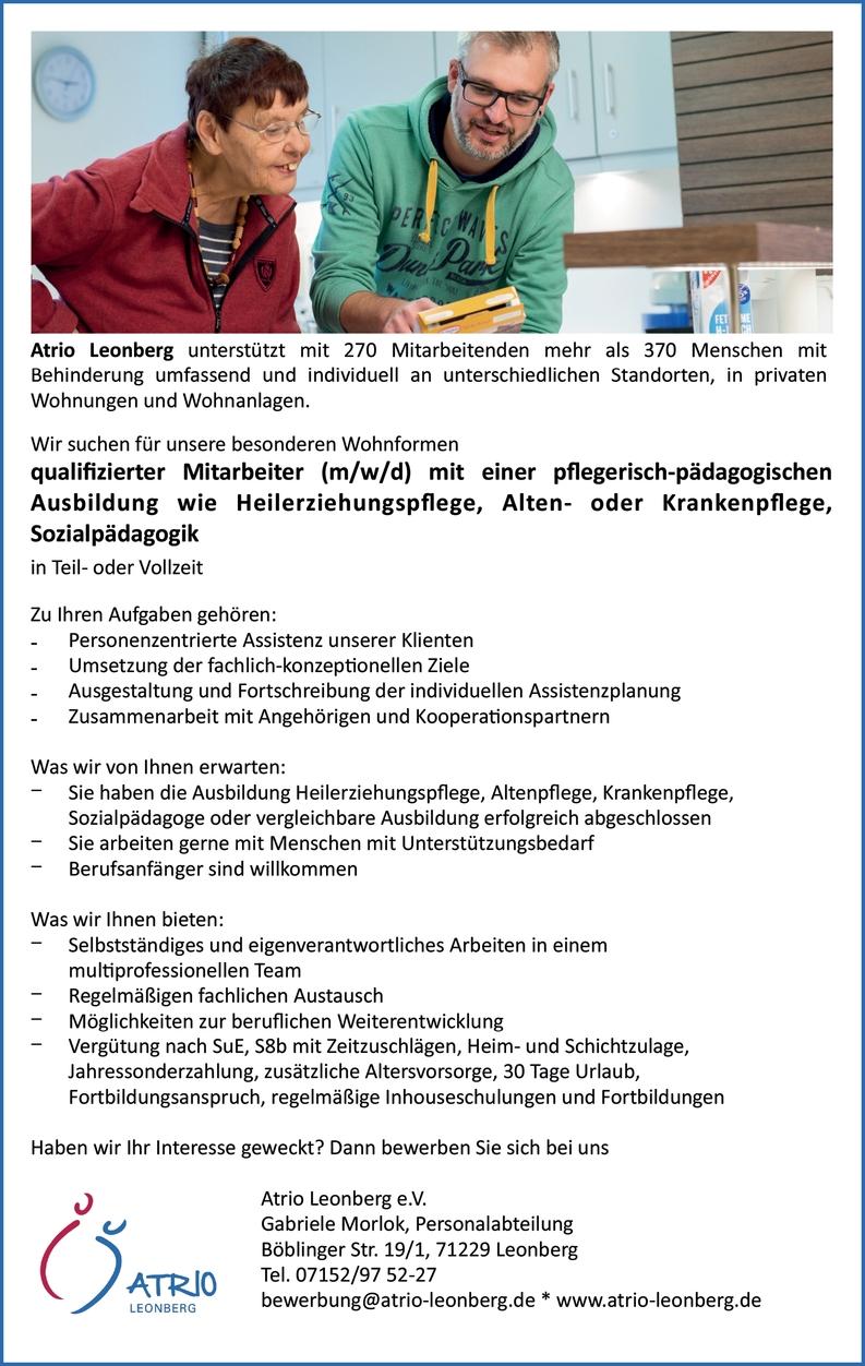 Gesundheits-und Krankenpfleger (m/w/d)