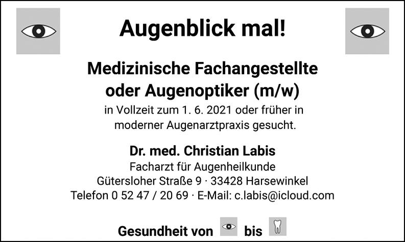 Medizinische Fachangestellte m/w/d