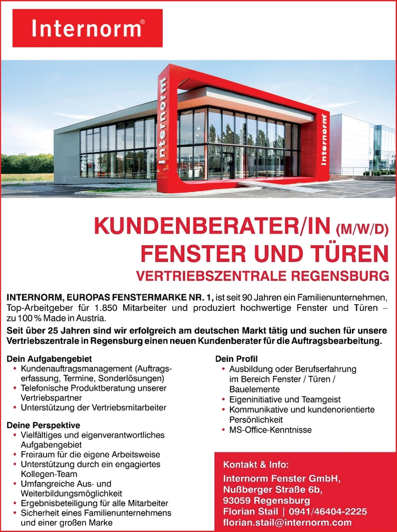 Kundenberater m/w/d