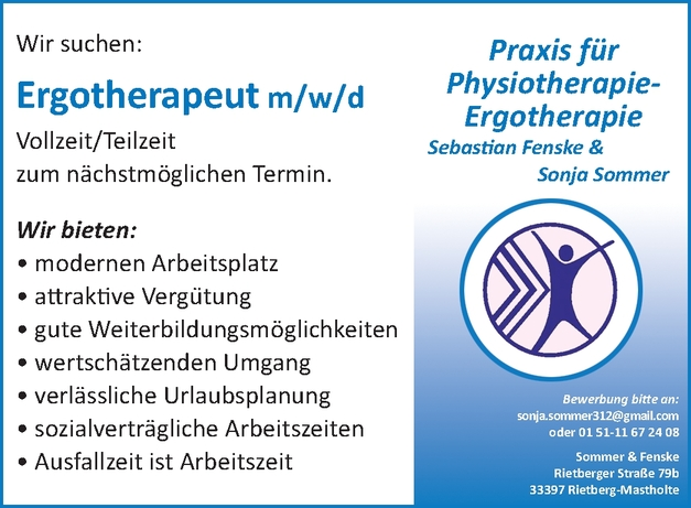 Ergotherapeut m/w/d