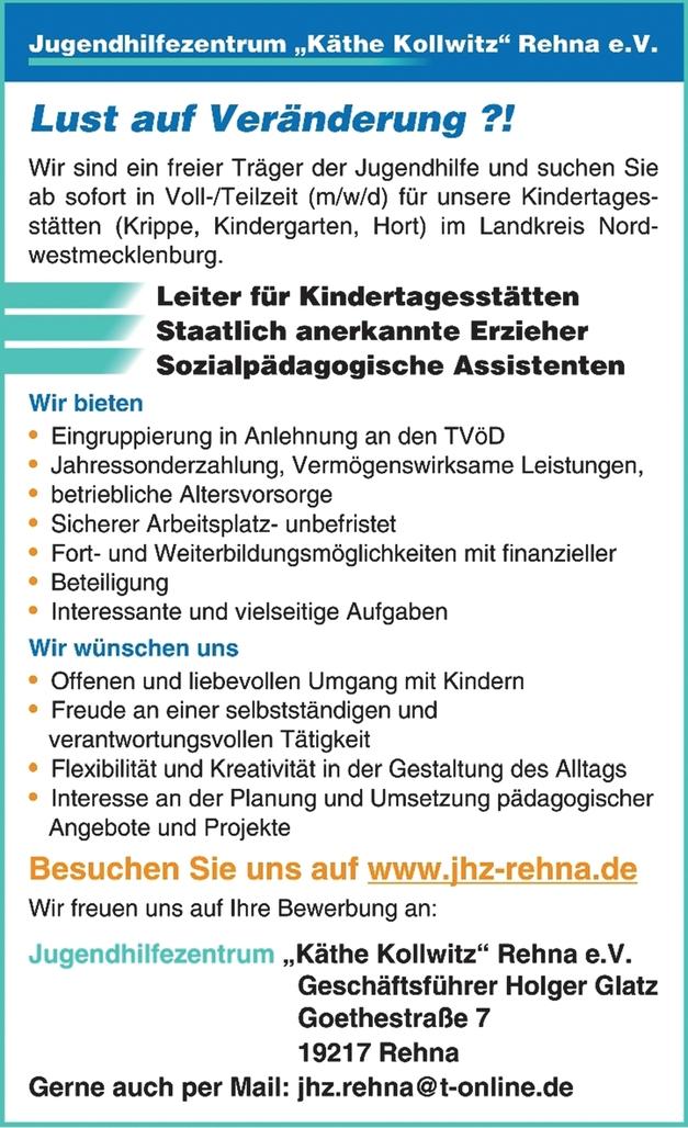 Sozialpädagogische Assistenten (m/w/d)