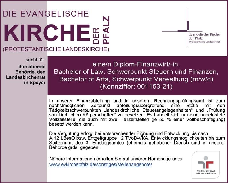 Diplom-Finanzwirt/-in
