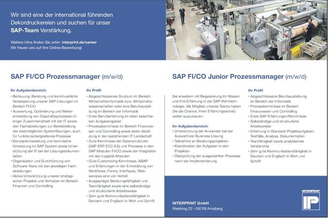 SAP Prozessmanager