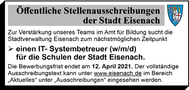 IT-Systembetreuer (m/w/d)