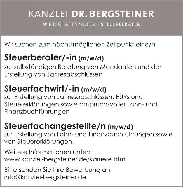 Steuerberater/in (m/w/d)