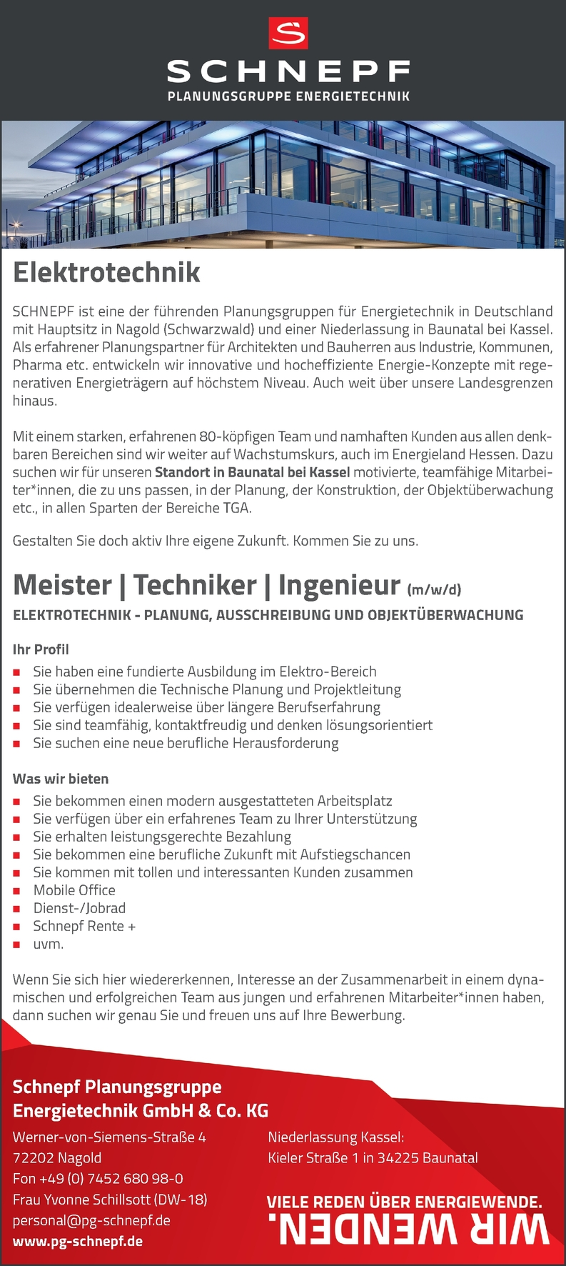 Meister Techniker Ingenieur Elektrotechnik