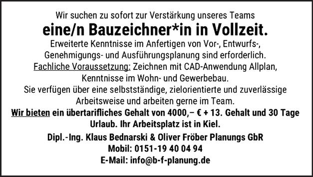 Bauzeichner w/m/d