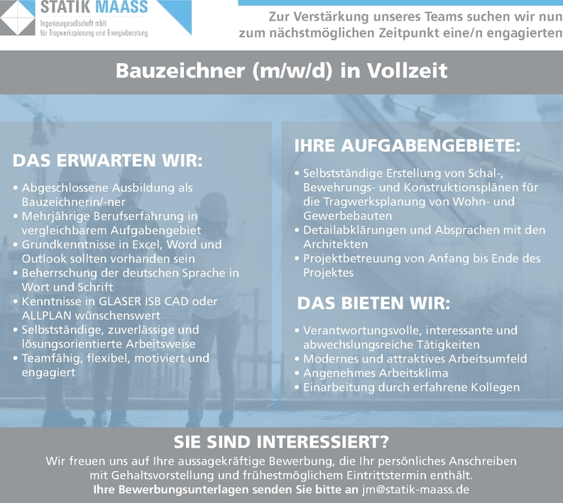 Bauzeichner (m/w/d)