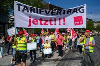 Streik bankangestellte dpa