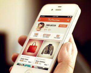 Garage sale mobile app