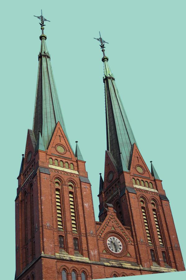 Speed Skien Church