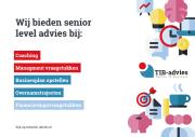 Coaching en Training adviseurs - TIB-Advies: TIB-Advies   Not For Profit stichting