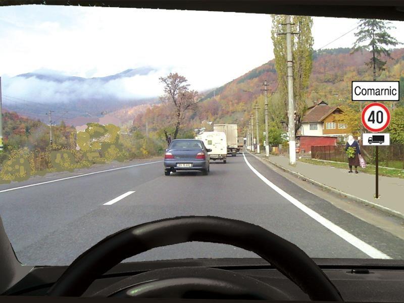 Cu ce viteză veţi putea rula dacă sunteţi la volan?