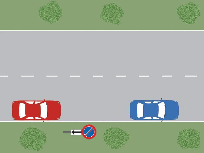 Care dintre autoturisme staţionează regulamentar?