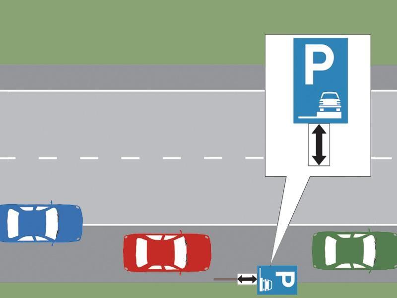 Care dintre cele trei autoturisme este parcat regulamentar?