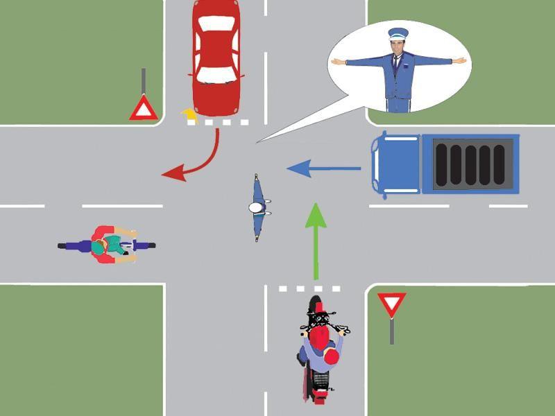 La semnalul poliţistului trebuie să oprească: