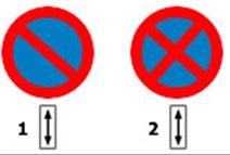 Este permisa intoarcerea autoturismului cand circulati in zona de actiune a unuia dintre indicatoarele alaturate?