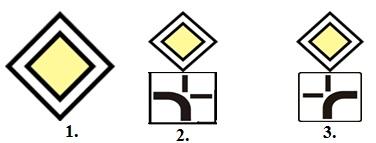 La care dintre indicatoare aveti intaietate, indiferent de directia pe care o urmati ?