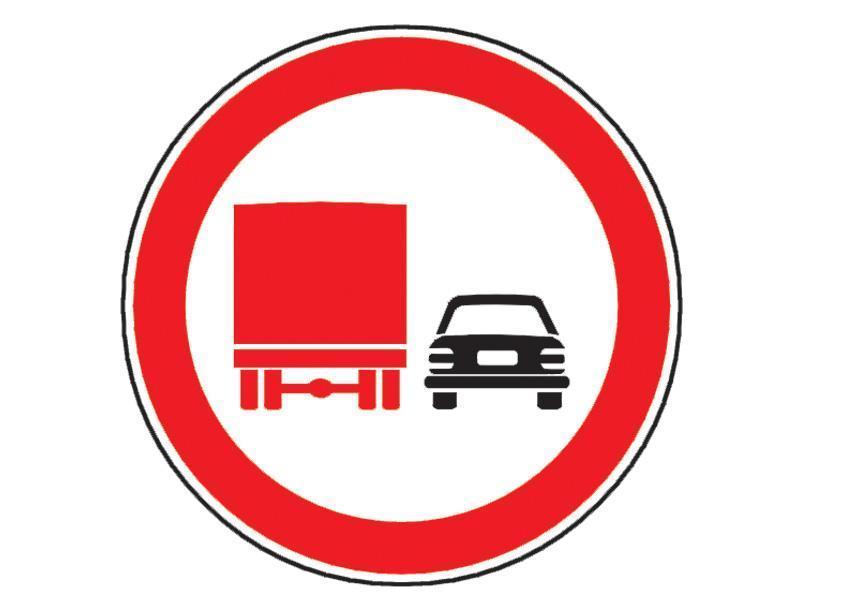 Va aflati la volanul unui autocamion si intalniti indicatorul alaturat. Cum veti proceda?