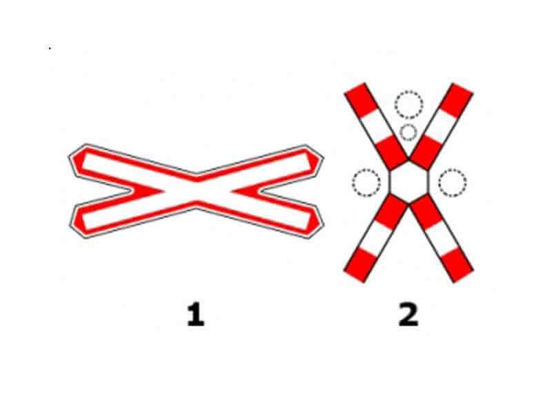 Care dintre cele două indicatoare te obligă să opreşti?