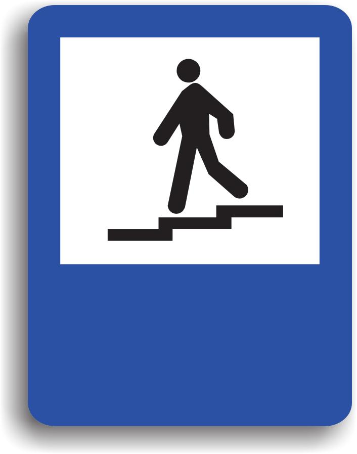 Se monteaza in apropierea unui pasaj subteran. Pentru traversarea drumurilor din zona pietonii sunt obligati sa circule prin pasaj.