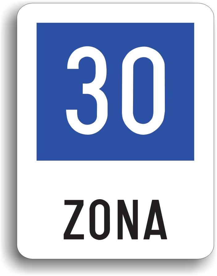 In general se amplaseaza in zonele urbane, in care viteza inscrisa pe indicator este considerata ca fiind potrivita pentru circulatia in conditii de siguranta. Viteza inscrisa pe indicator nu este viteza minima si nici maxima.
