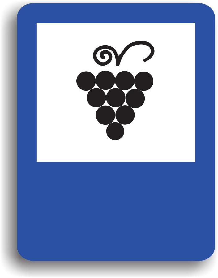 Se instaleaza in apropierea unui centru viticol. Pe indicator poate fi scrisa si distanta in metri pana la aceste zone.