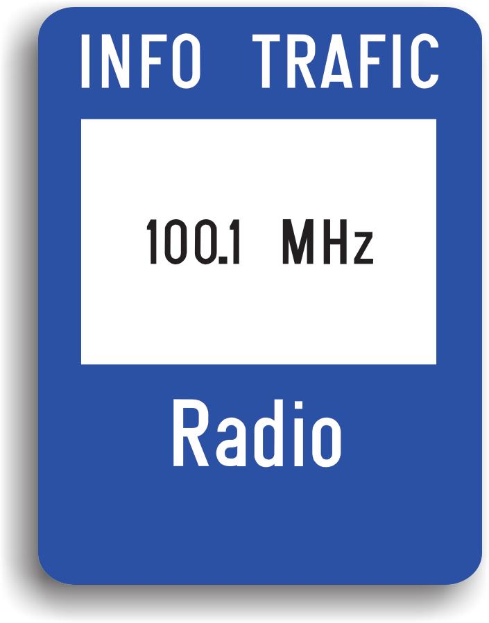 Are rolul de a informa conducatorul auto care sunt frecventele radio din zona respectiva.