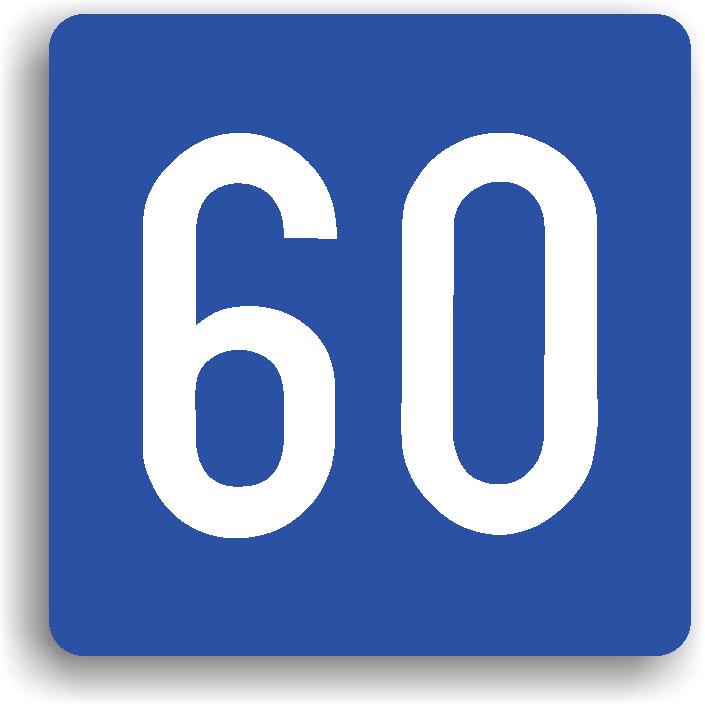 Se amplaseaza pe drumurile publice in care viteza inscrisa pe indicator este considerata ca fiind optima pentru circulatia in conditii de siguranta si pentru asigurarea unui trafic fluent. Viteza mentionata este viteza recomandata, nu minima sau maxima.