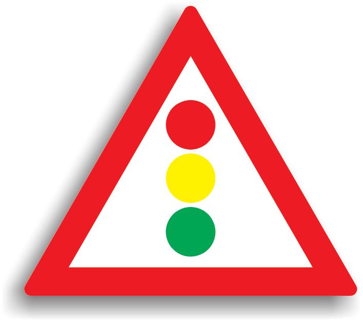 Se instaleaza la 30-200 m de locul in care se afla semaforul, daca se considera ca prezenta semaforului ar putea surprinde conducatorii auto.
