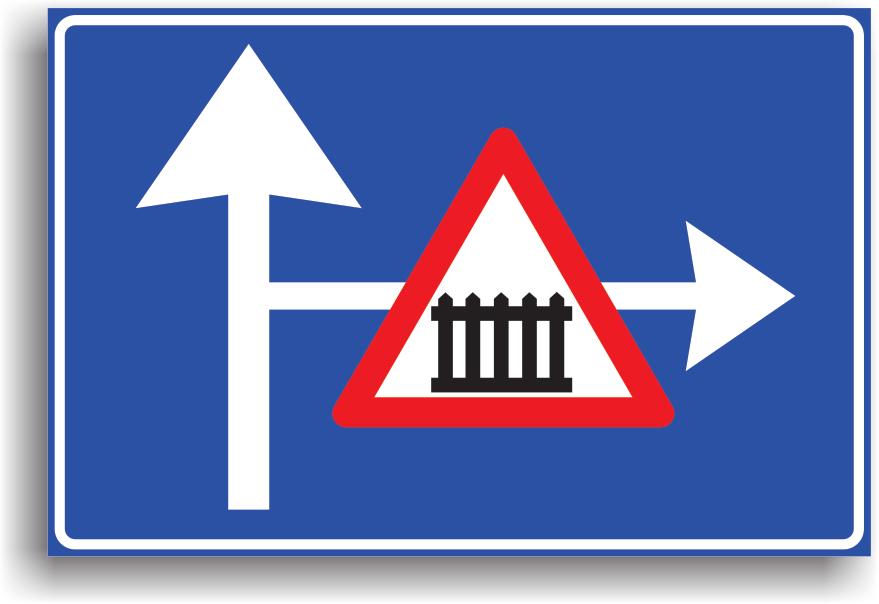 In localitate se amplaseaza la 50-100 m, iar in afara localitatii la 100-200 m de un loc periculos sau de o alta restrictie.