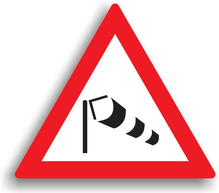 Este amplaseaza in locurile unde exista frecvent curenti puternici de aer care pot afecta circulatia rutiera. Conducatorii auto trebuie sa fie atenti la trecerea pe langa un autovehicul cu gabarit mare deoarece se poate forma fenomenul de absorbtie.