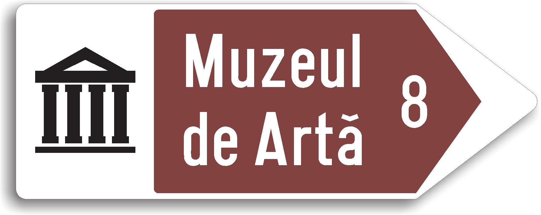 Acest indicator are rolul de a-i informa pe turisti in ce directie se afla obiectivele turistice.
