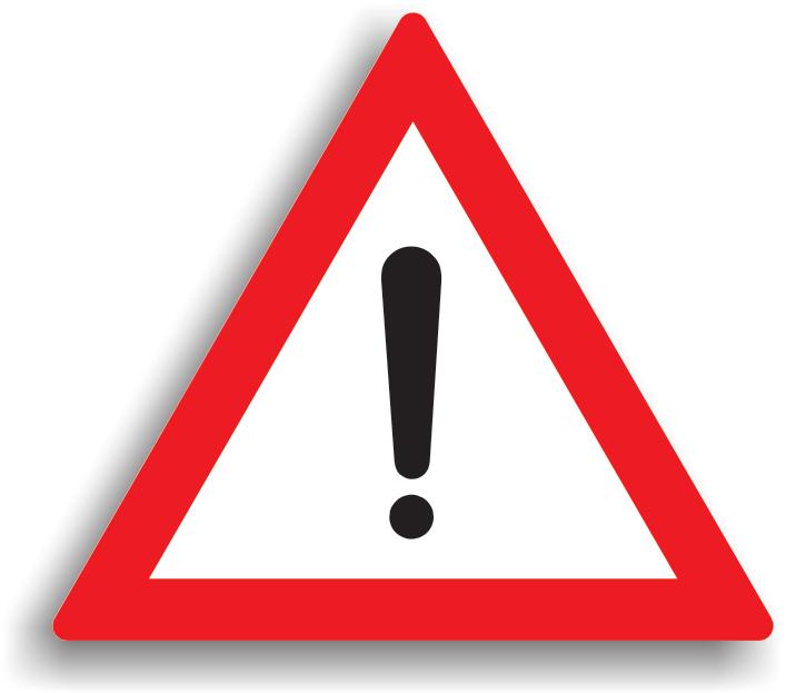 Se amplaseaza cu 50-200 m inaintea locului periculos, in orice situatie periculoasa care nu este prevazuta cu un indicator de avertizare specific. La intalnirea acestui indicator, conducatorului auto ii este recomandat preventiv sa reduca viteza si sa circule cu atentie sporita.