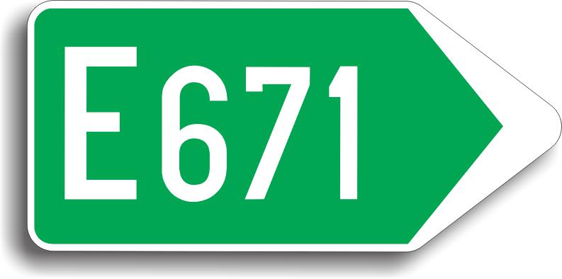 Se amplaseaza in vederea confirmarii ca drumul pe care se afla conducatorul auto este un drum deschis traficului international.