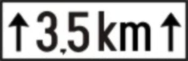 Are rolul de a preciza lungimea sectorului de drum periculos la care se refera indcatorul impreuna cu care este montat pe drumurile publice.