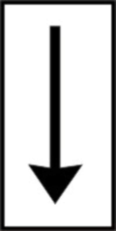 Se instaleaza impreuna cu un indicator si delimiteaza zona de actiune a indicatorului la care face referire, in cazul acesta sfarsitul zonei de actiune.