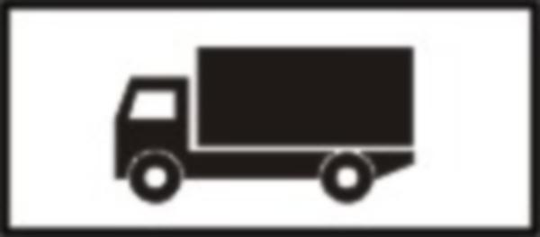 Precizeaza categoria de vehicule la care face referire indicatorul sub care este amplasat.