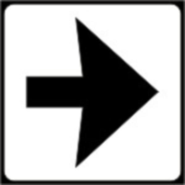 Se monteaza sub semafoare si au rolul de a indica directiile la care se refera acestea din urma.