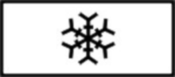 """Se monteaza impreuna cu indicatorul """"Drum lunecos"""" si indica in ce conditii meteorologice drumul devine lunecos."""