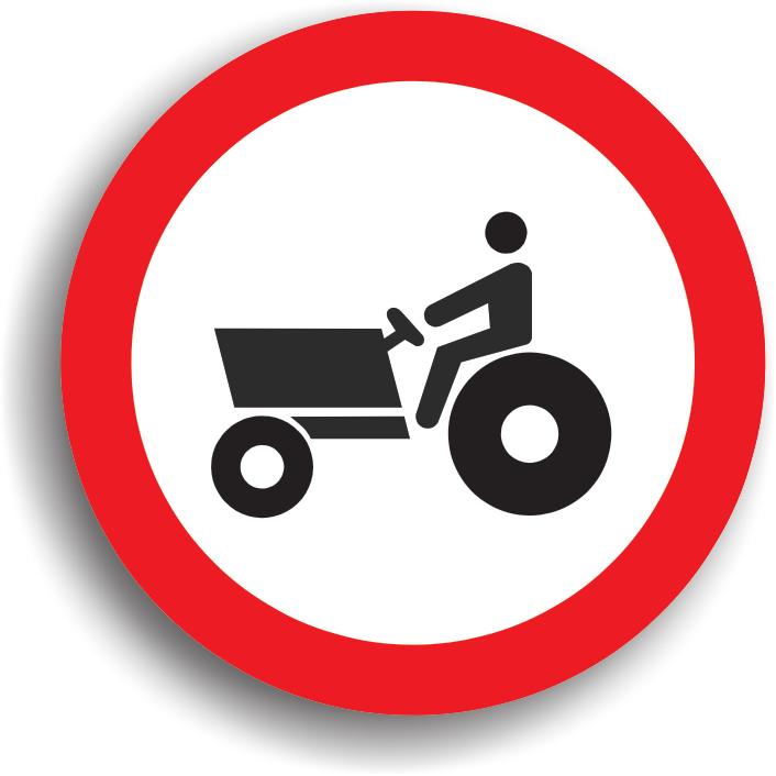 Poate fi intalnit in localitatile rurale, pe drumurile publice pe care accesul tractoarelor si masinilor autopropulsate pentru lucrari este interzis.
