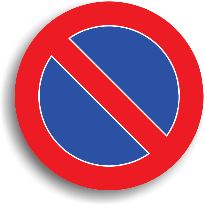 """La intalnirea acestui indicator stationarea vehiculelor este interzisa. Zona de actiune a indicatorului inceteaza la cel mai apropiat colt de intersectie pe sensul de mers. Acest indicator poate fi insotit si de alte panouri aditionale care marcheaza inceputul, continuarea sau sfarsitul zonei de actiune (""""Inceputul zonei de actiune a indicatorului"""", """"Confirmarea zonei de actiune a indicatorului"""", """"Sfarsitul zonei de actiune a indicatorului"""") sau poate avea inscriptionate pe panou niste sageti cu aceeasi semnificatie."""