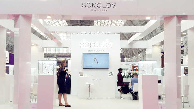 Стенд SOKOLOV на International Jewellery London