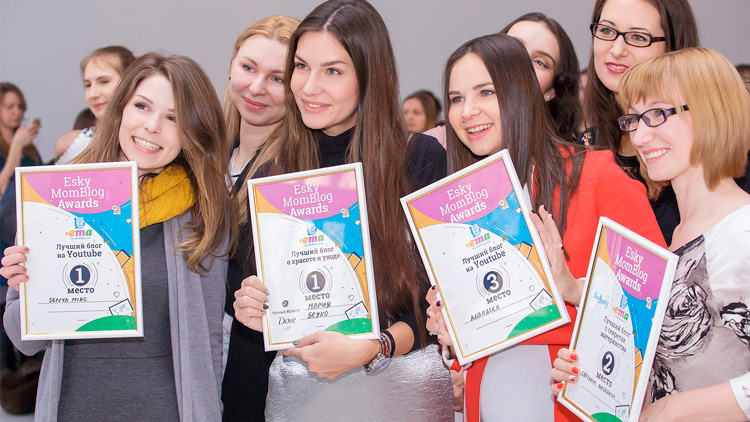 SOKOLOV на премии ESKY MomBlog Awards