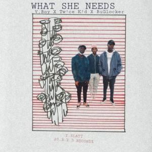 What She Needs (feat. Tw!ce K!d & BiGlocker)