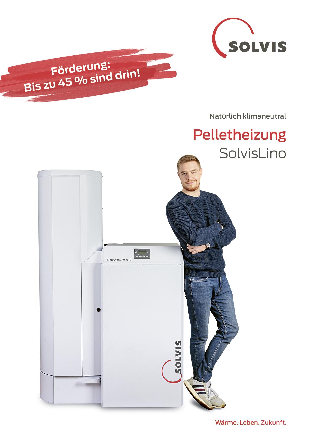 Produktbroschüre SolvisLino Pelletheizsystem
