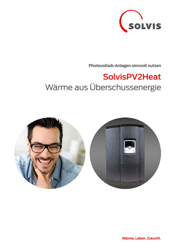 Produktbroschüre SolvisPV2Heat