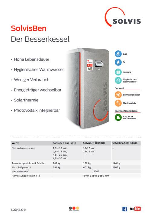 Produktblatt SolvisBen