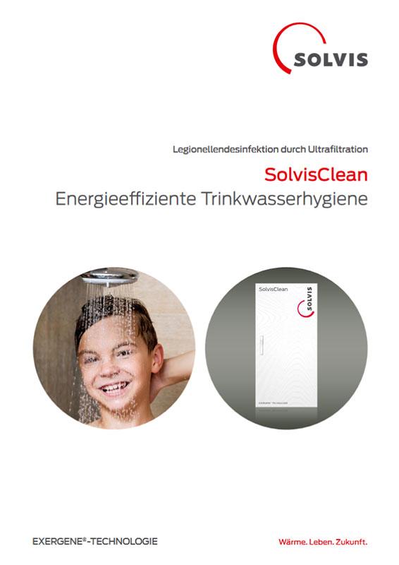 Produktbroschüre SolvisClean