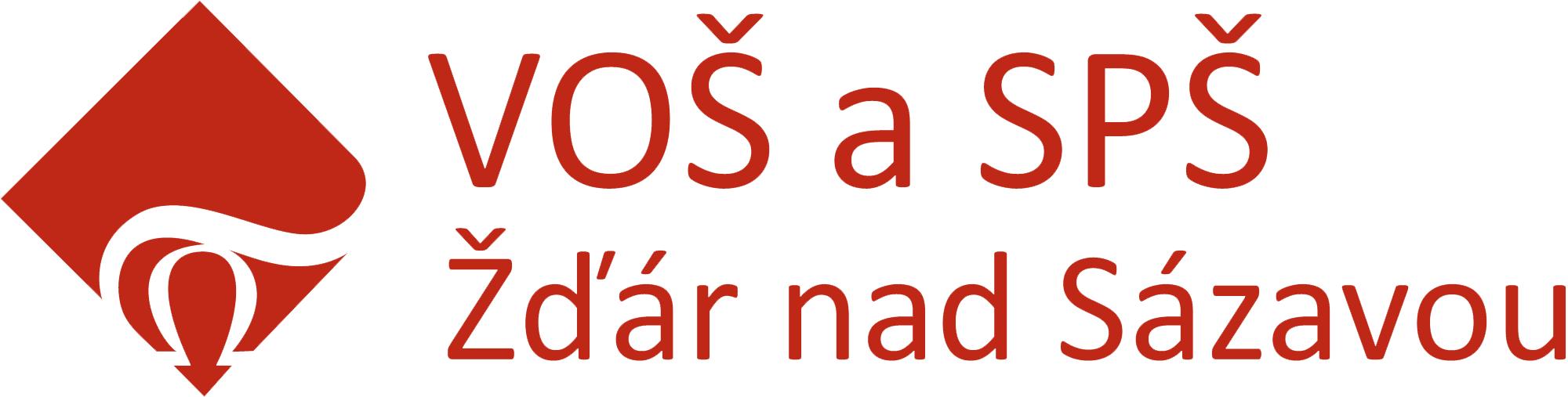 VOŠ a SPŠ Žďár nad Sázavou logo